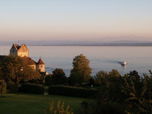 Meersburg,vue sur le lac