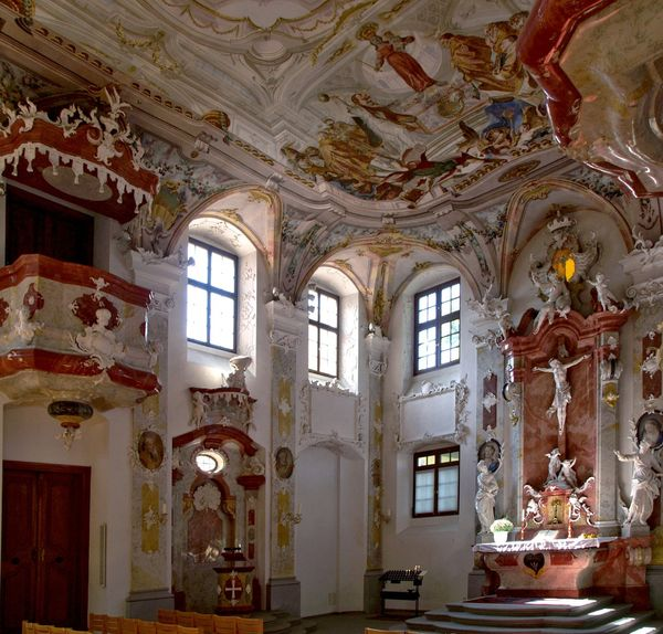 Meersburg,église