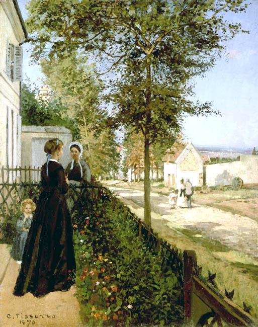 Pissarro,LaroutedeVersailles