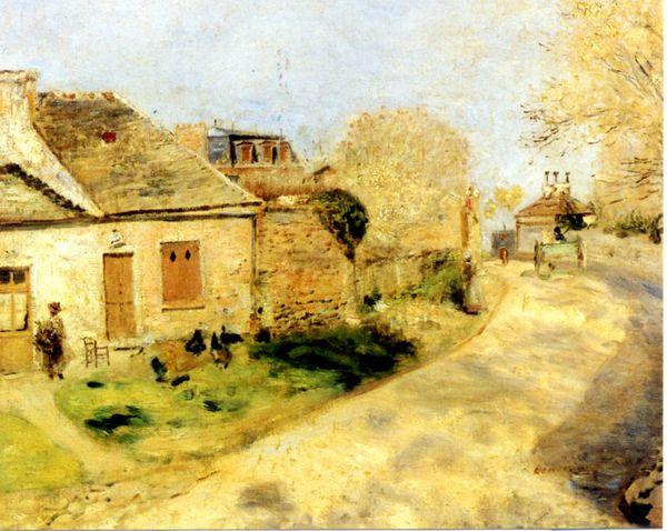 Renoir,Laprovende des poules