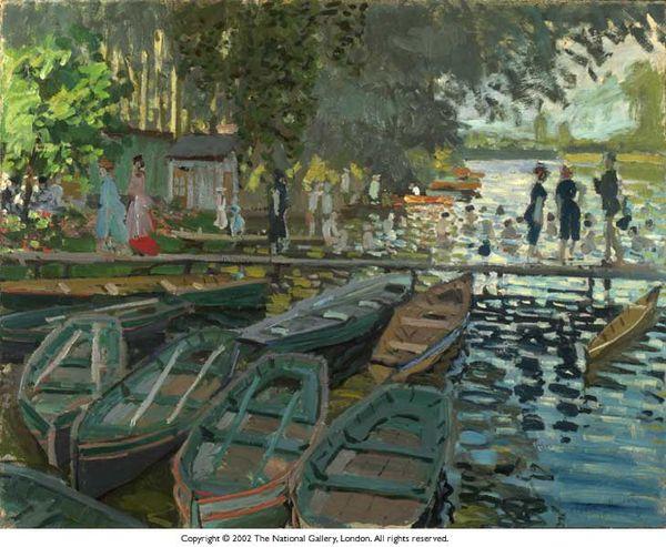 Monet,BainsàlaGrenouillere