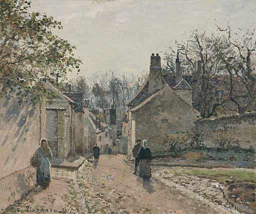 Pissarro,UneruedevillageLouv