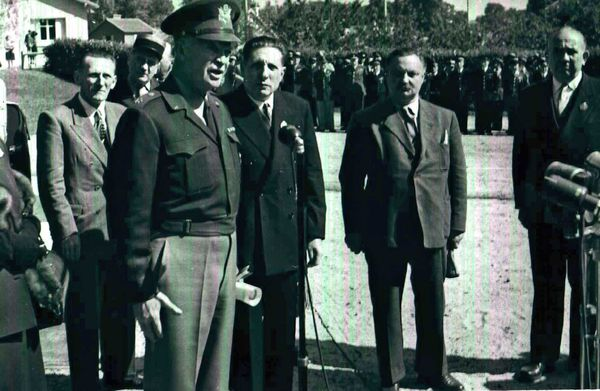 Eisenhower,citoyend'honneur Louveciennes