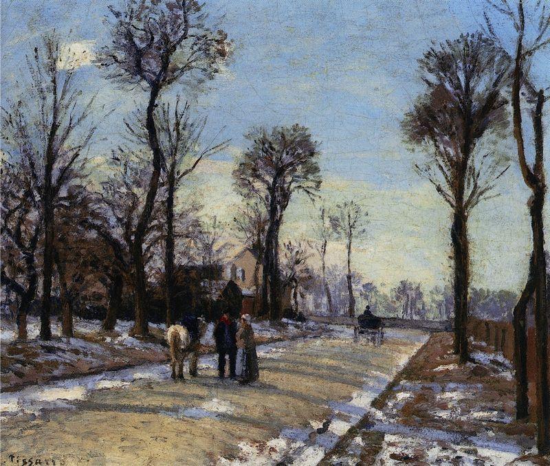 Pissarro_Route de Versailles