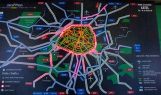 Real-time-traffic-map-of-Paris-region