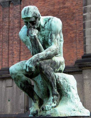 Auguste_Rodin_Le penseur_Copenhagen
