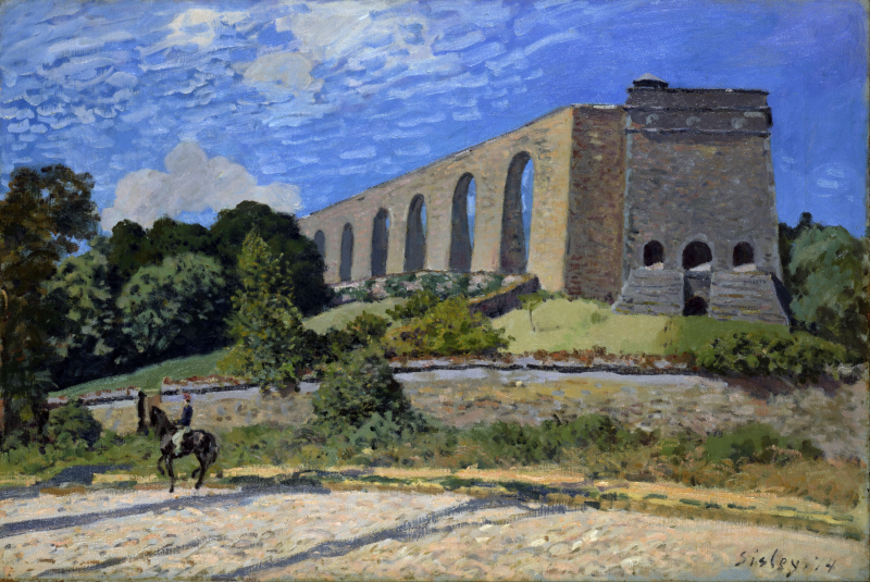 Alfred_Sisley_-_Aqueduct_at_Marly_-_Google_Art_Project