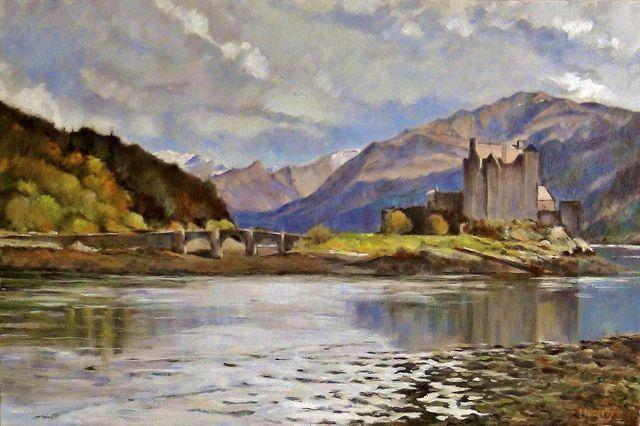Château d'Eilean Donan - Ecosse-J.Ducreux