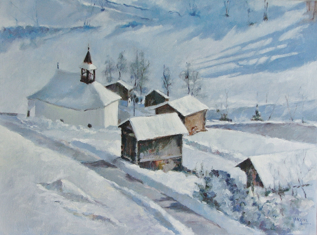 Saint-Jean dans le Val d'Anniviers  Canton du Valais  Suisse 1