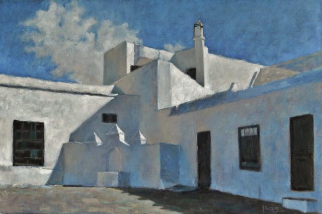 Place de village à Téguise