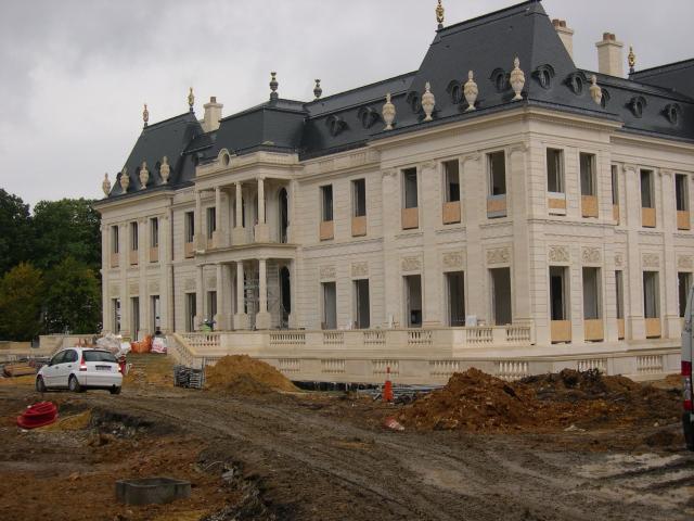 Château Louis XIV Chantier GTM
