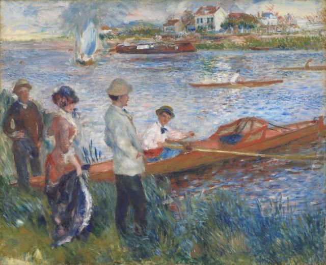 Renoir_Les canotiers
