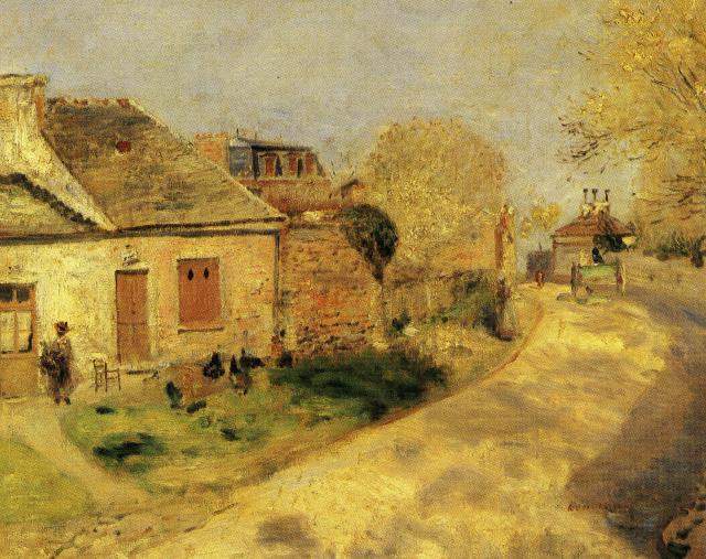Renoir_La_Provende_des Poules