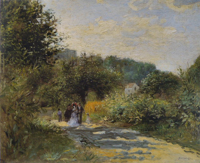 Renoir_-_Une_route_à_Louveciennes