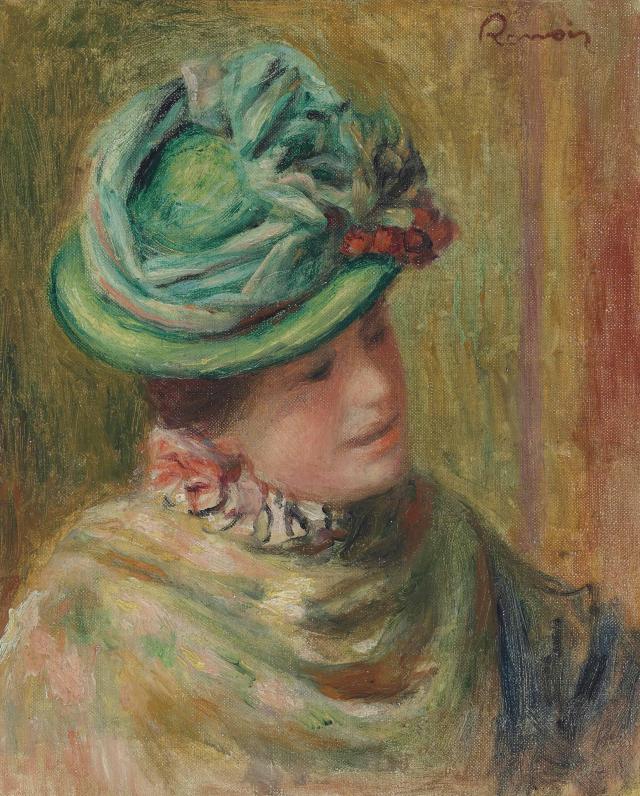 Renoir_Jeanne_Baudot_en_chapeau_vert _1896
